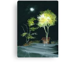 Drive Inn Canvas Print