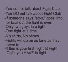 Fight Club by slkr1996