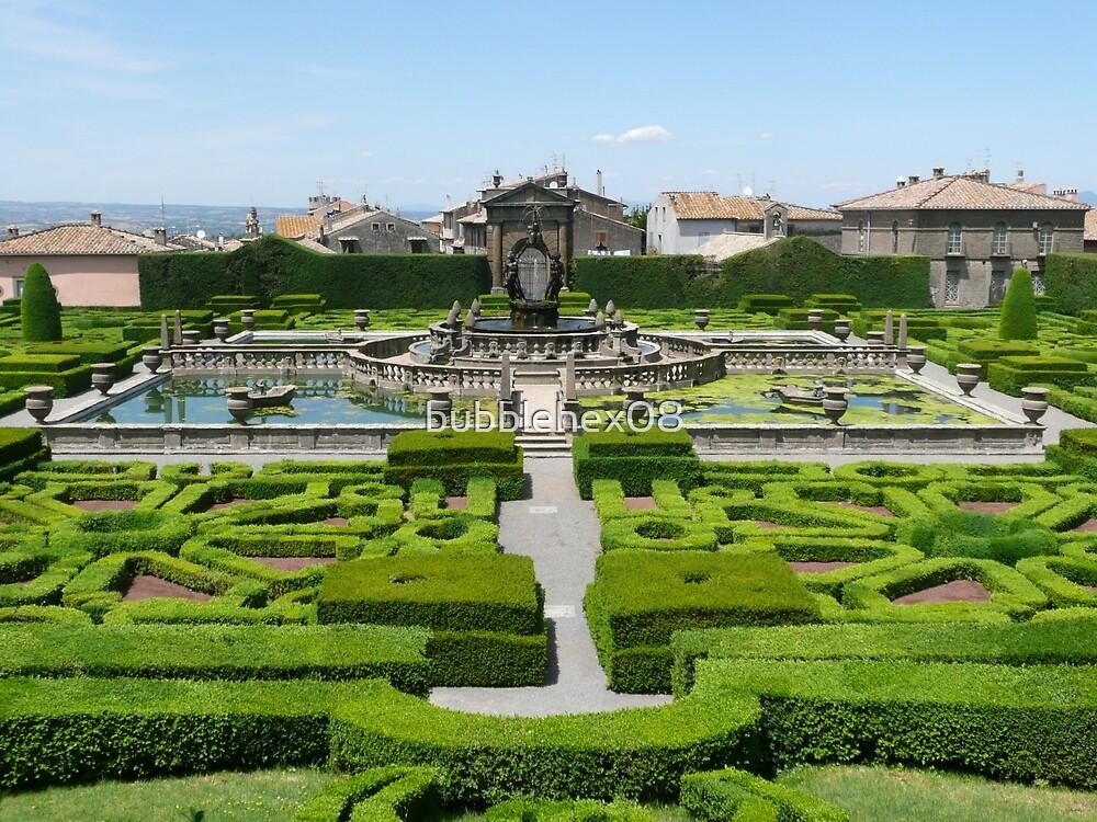 Giardino di Villa Lante by bubblehex08