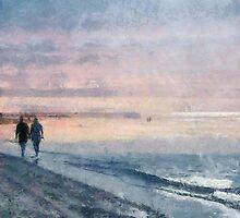 Walking the Beach by leapdaybride