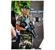 Garde Militaire Poster