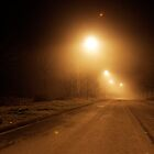 foggy road by busteradams