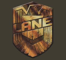 Custom Dredd Badge - (Lane) by CallsignShirts