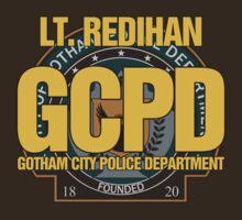 Custom Gotham Police (Lt. Redihan) by CallsignShirts