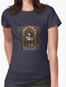 Bioshock Nouveau - Little Sister Womens Fitted T-Shirt