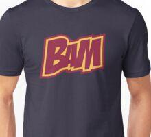 BAM Comic Sound Effect T-Shirt - Red Unisex T-Shirt