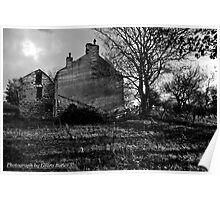 Clovervale, Abandoned Country House, County Antrim Poster