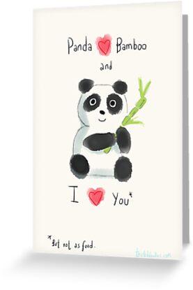 Panda Love by twisteddoodles