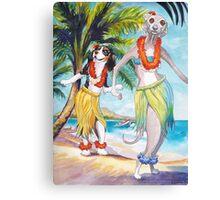 Hawaii Dogs Canvas Print