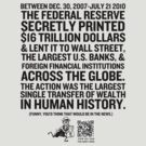 Federal Reserve Audit Shirt by LibertyManiacs