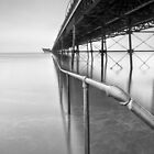 Southport Pier Rail by Chris Frost Photography