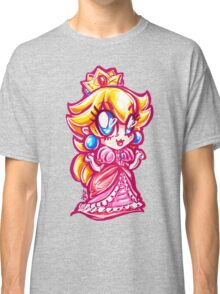 Chibi Princess Peach Classic T-Shirt