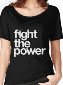 Fight the Power Women's Relaxed Fit T-Shirt