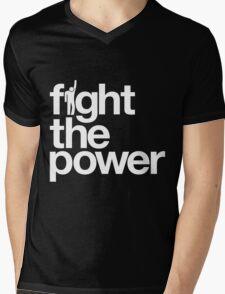 Fight the Power Mens V-Neck T-Shirt
