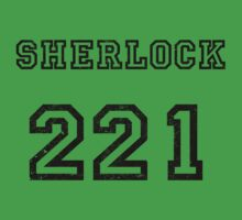 SHERLOCK 221 Kids Clothes