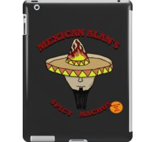 Mexican Alan's Spicy Nachos iPad Case/Skin
