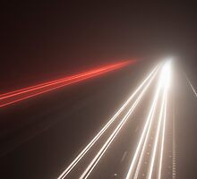 Glow Road by JohnKnightPhoto