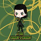 Avengers Loki Chibi by IcyPanther