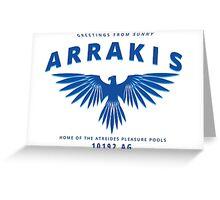 Atreides | Greetings from sunny Arrakis Greeting Card