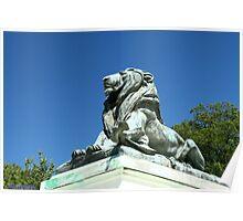Capitol Lion Poster