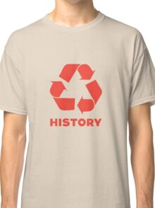 Recycle History Classic T-Shirt