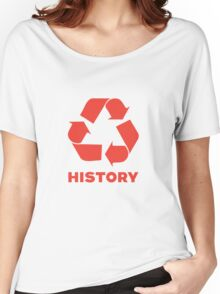 Recycle History Women's Relaxed Fit T-Shirt
