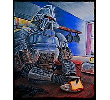 Toasters make Toast - Cylon Print Photographic Print