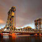 The Tees Newport Bridge by PaulBradley