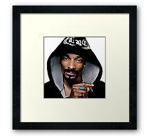 Snoop dogg Framed Print
