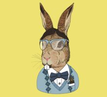 Nerd Bunny Kids Clothes