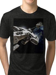 Space Battle Tri-blend T-Shirt
