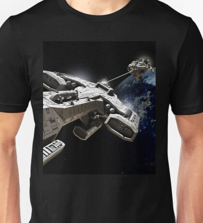 Space Battle Unisex T-Shirt