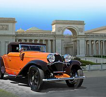 1930 Bugatti Convertible Coupe by DaveKoontz