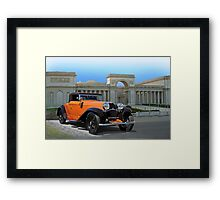 1930 Bugatti Convertible Coupe Framed Print