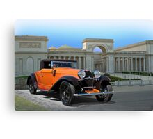 1930 Bugatti Convertible Coupe Canvas Print