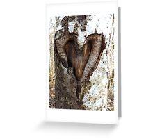 Woodheart Greeting Card