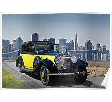 1930 Rolls-Royce Phantom II Poster