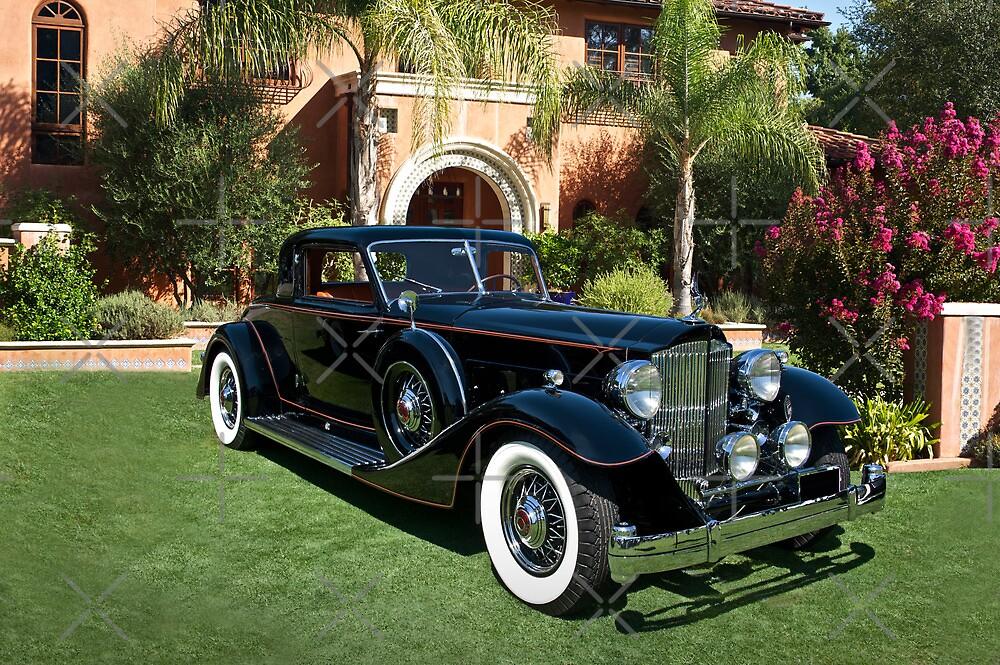1930 Packard Twelve Custom Dietrich Coupe by DaveKoontz