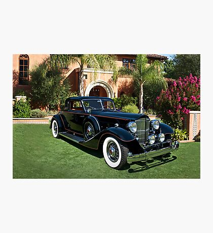1930 Packard Twelve Custom Dietrich Coupe Photographic Print
