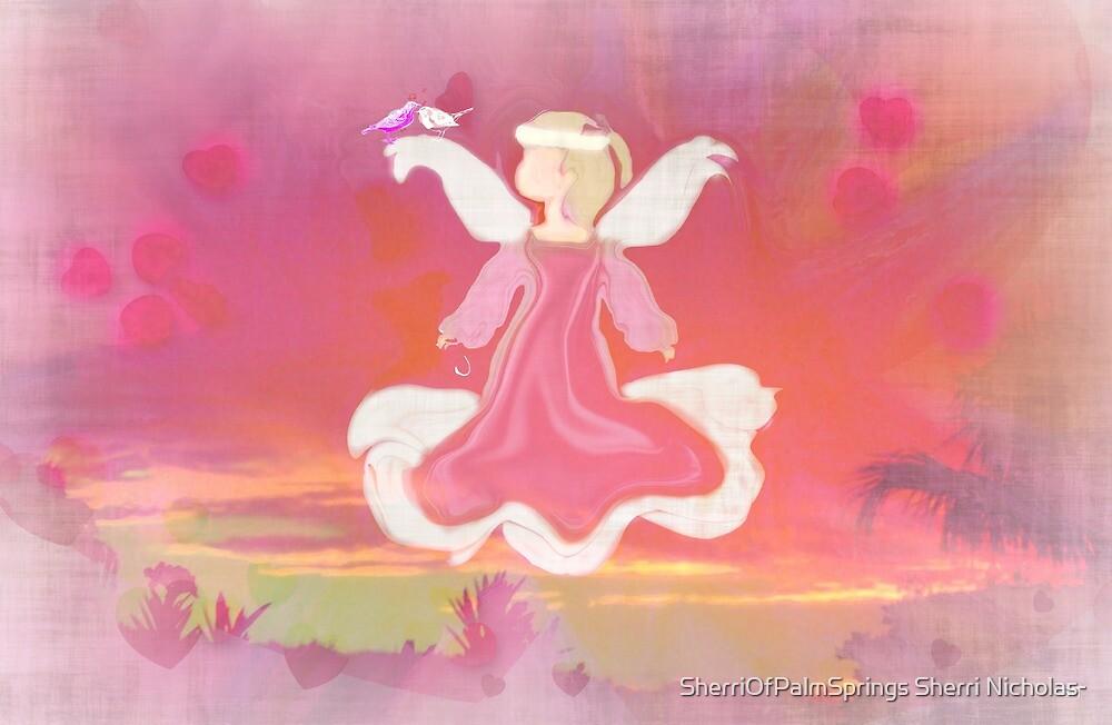 LOVE LIKE THE ANGELS LOVE by Sherri     Nicholas