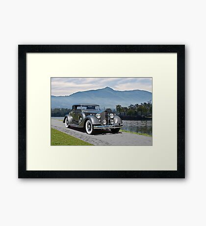 1934 Packard Coupe Framed Print