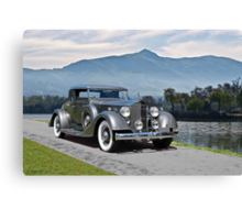 1934 Packard Coupe Canvas Print
