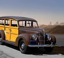 1939 Ford Delux Station Wagon by DaveKoontz