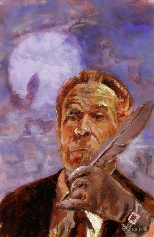 Vincent Price Presents volume Four cover by Graham Hill
