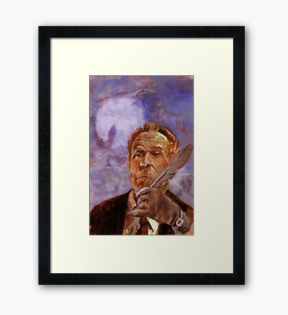 Vincent Price Presents volume Four cover Framed Print