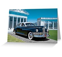 1947 Packard Super Delux Eight Greeting Card