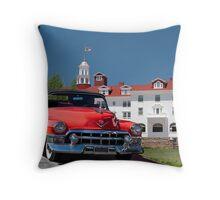 1953 Cadillac Eldorado Convertible Throw Pillow