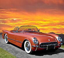 1955 Corvette Roadster by DaveKoontz