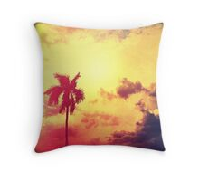 Darkness Moving In Throw Pillow