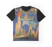 Vintage poster - Europe Graphic T-Shirt